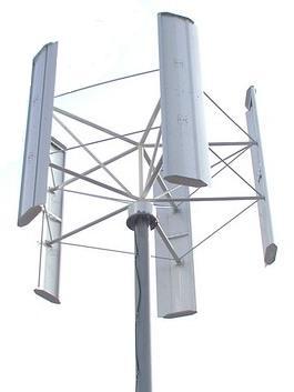 Ветрогенераторы с вертикальной осью вращения
